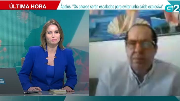 Entrevista a Juan Carlos Cubeiro en TVGA