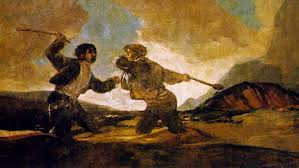 Mirar un cuadro - Duelo a garrotazos (Goya) - RTVE.es